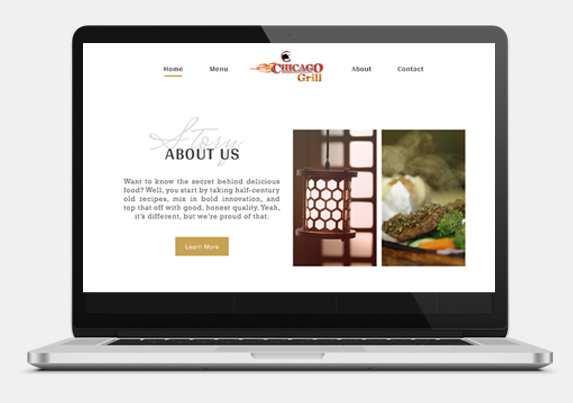 chicago grill website