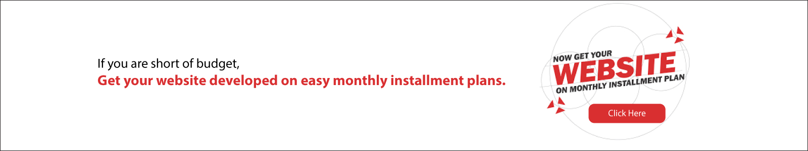Website on Installment plan