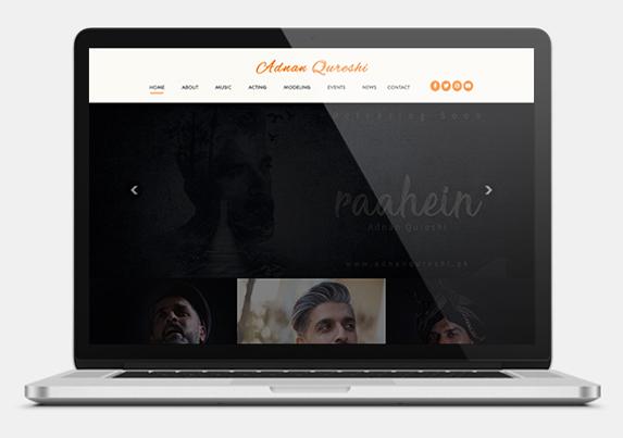 Celebrity website development