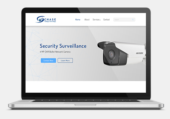 Website development for security survillance company