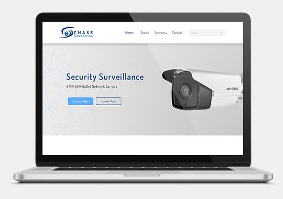 Website development for security surveillance company