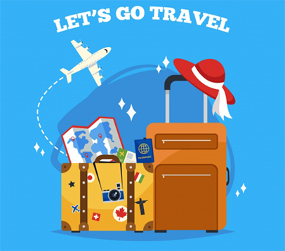 Travel agency website portfolio