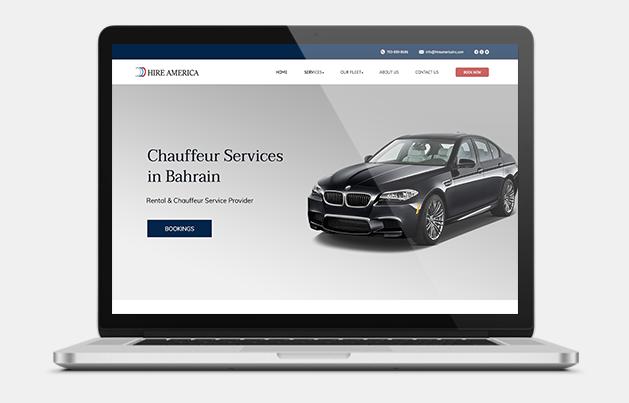 Chauffeur Website development