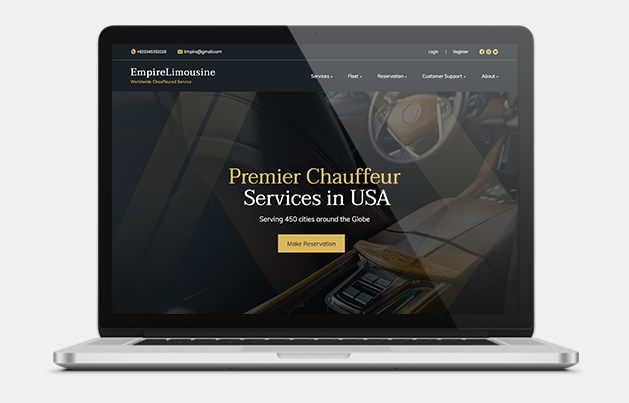 Empire Limousine Website