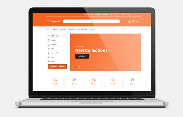 Multi Vendor Ecommerce Website